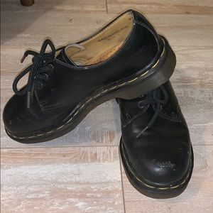 Dr Martens oxfords. Made in England!